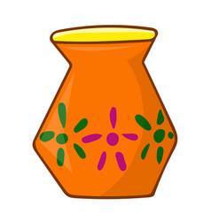 Vase isolated vector