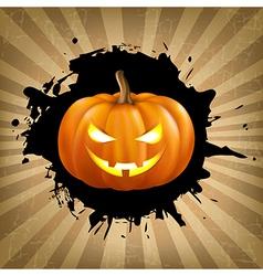 Vintage helloween poster vector