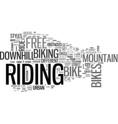 What style of biker are you text word cloud vector