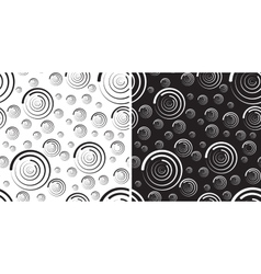 Seamless pattern of rounds for background vector image vector image