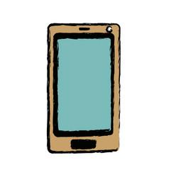 smartphone device technology app digital vector image vector image
