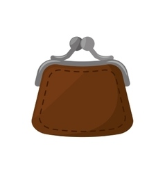 Purse woman isolated icon vector