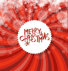 Merry christmas abstract background sunburst and vector
