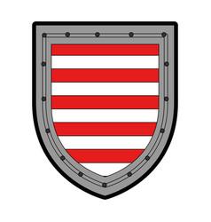 shield badge symbol vector image