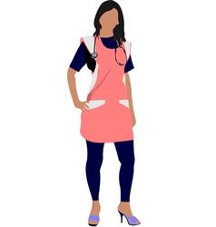 al 0336 nurse 01 vector image