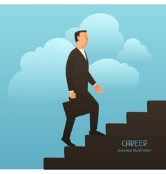 Career business conceptual with vector