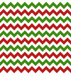 christmas chevron seamless pattern vector image