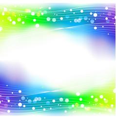 Rainbow abstract defocused bokeh lights background vector