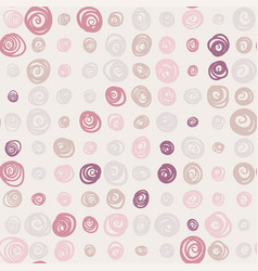 seamless pattern with swirls on bright background vector image vector image