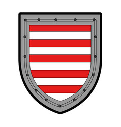 Shield badge symbol vector
