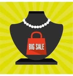 shopping concept design vector image vector image