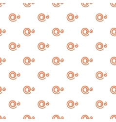 Spiral pattern cartoon style vector