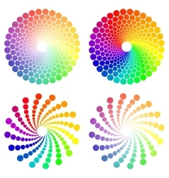 Color circle vector
