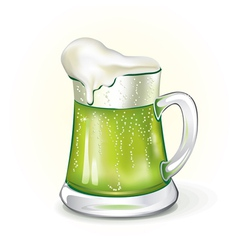 Mug of ale vector image