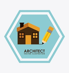 architect design vector image