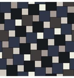 dark tiles seamless pattern vector image vector image