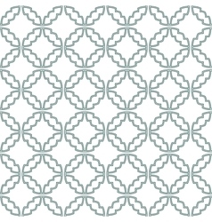 Geometric ornamental pattern - seamless vector image