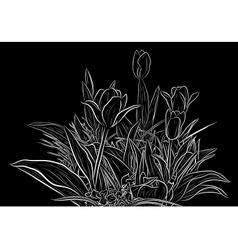 Plant sketch vector