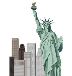 new york elements vector image