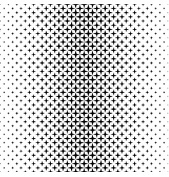 black white star pattern - background graphic vector image vector image