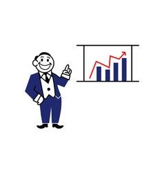 Business clipart presentation vector