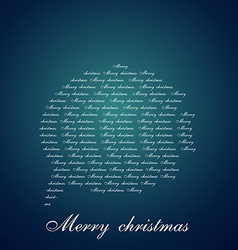 Chat bubble of christmas vector