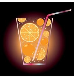 Citrus juice vector
