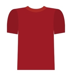 Isolated male tshirt cloth design vector