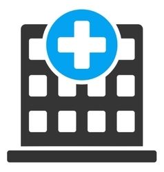 Clinic icon vector