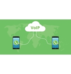 Voip voice over internet protocol vector