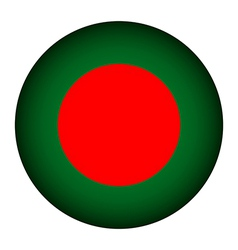 Bangladesh flag button vector