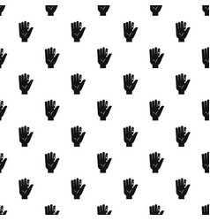 Finger with blood dripping pattern vector