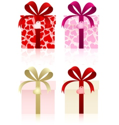 gifts set vector image