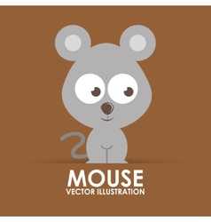 Mouse cute vector