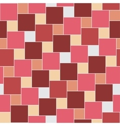 pastel red tiles seamless pattern vector image vector image