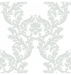 Vintage Baroque Rococo ornament pattern vector image