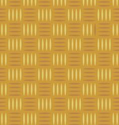wicker pattern vector image vector image