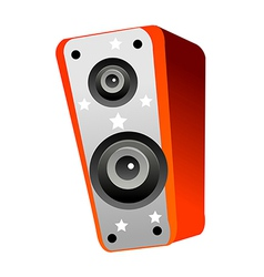 A view of a Speaker vector image