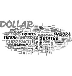 Is the u s dollar about to reverse course text vector