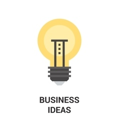business ideas icon concept vector image vector image