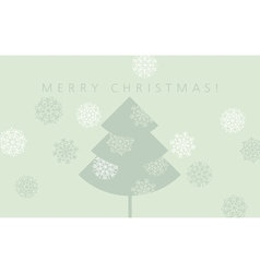 elegant pale green color christmas background xmas vector image vector image