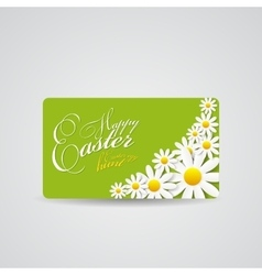 Happy Easter Spring Background vector image vector image