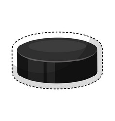 Jockey sport disk icon vector