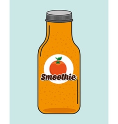Smoothie fruit vector
