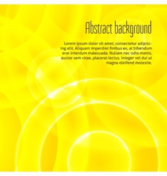 Abstract background with shiny circles vector image
