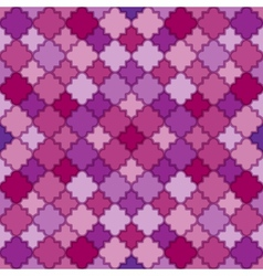 Abstract purple pattern vector