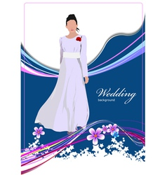 al 0339 wedding vector image vector image