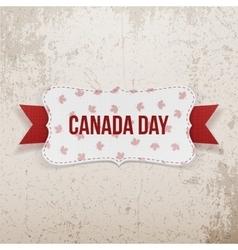 Canada day realistic national emblem vector
