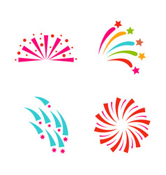 firework celebration holiday vector image vector image
