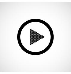 Icon - play vector
